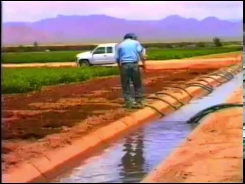 Saving Water in Agriculture Surface Irrigation