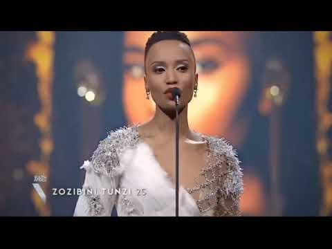 Miss South Africa 2019 Zozibini Tunzi FULL PERFORMANCE