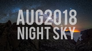 What's in the Night Sky August 2018 #WITNS