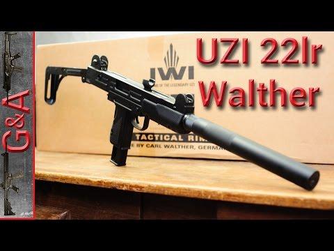 IWI UZI 22lr Unboxing