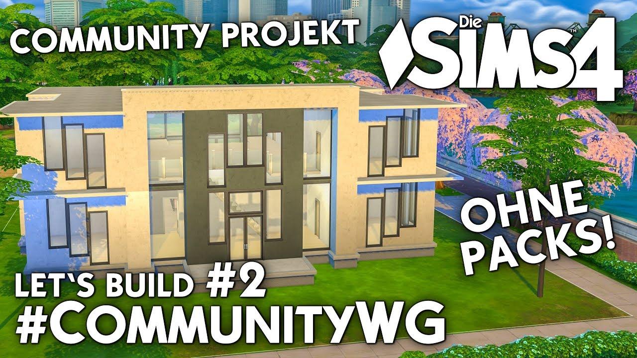 Die Sims 4 Community Wg Projekt Ohne Packs Mitmachen Bauen 2
