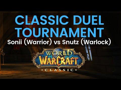 Sonii Warrior vs Snutz Warlock Classic Duel Tournament Round 2