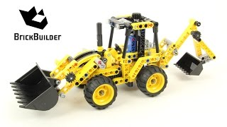LEGO TECHNIC 42004 Mini Backhoe Loader - Speed Build for Collecrors - Technic Collection 5 12