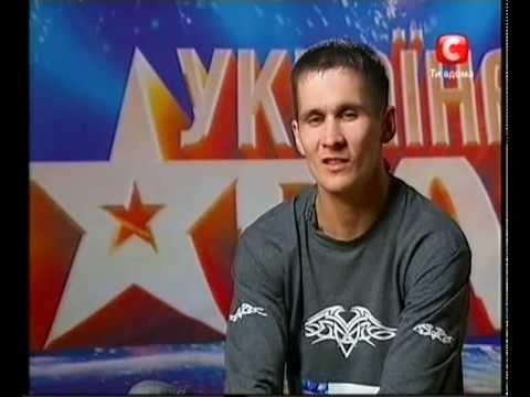 «Україна має талант-3» Донецк - Боцев Роман (свист)