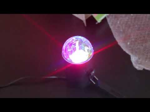 Unboxing R&G LED Super Mini Projector DJ Disco Laser Lighting Stage Light Party Show Plug From Ebay