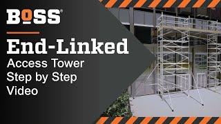 Setting up a BoSS End-Linked Mobile Access Tower