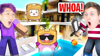 FOXY & BOXY Build Their DREAM MANSION In MINECRAFT! (WE ALMOST CRIED)