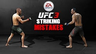EA UFC 3 Striking Tip  - 5 Control Mistakes Hurting Your Striking!