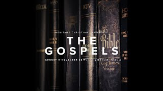 Special Fall Audit Class: The Gospels with Justin Guin