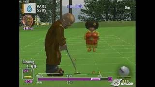 Hot Shots Golf Fore! PlayStation 2 Gameplay -