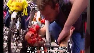 G8 Genova  2001 - carica piazza Manin