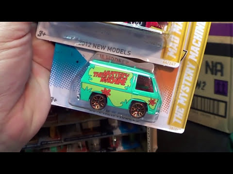 Hot Wheels Case Code 2012 PPA New cars!