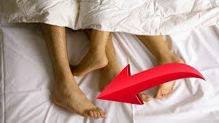 Esta es la razón por la que sacas el pie fuera de la cama. Nunca te lo habías imaginado