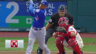 August 20, 2016-Toronto Blue Jays vs. Cleveland Indians