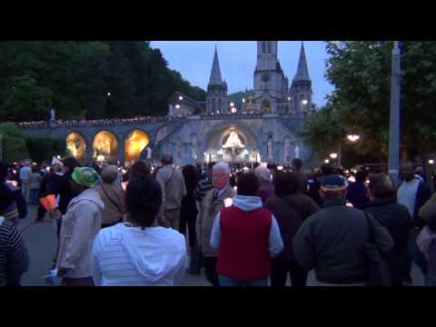 Lourdes Church in France May 2012