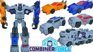 TRANSFORMERS COMBINER FORCE MENASOR DECEPTICON MOTORMASTER DRAGSTRIP HEATSEEKER SLASHMARK WILDBREAK