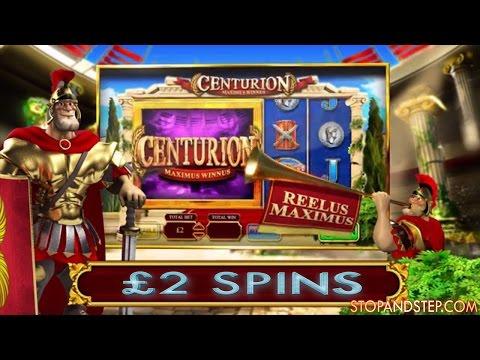 Centurion William Hill Bookies Slot on £2 Spins