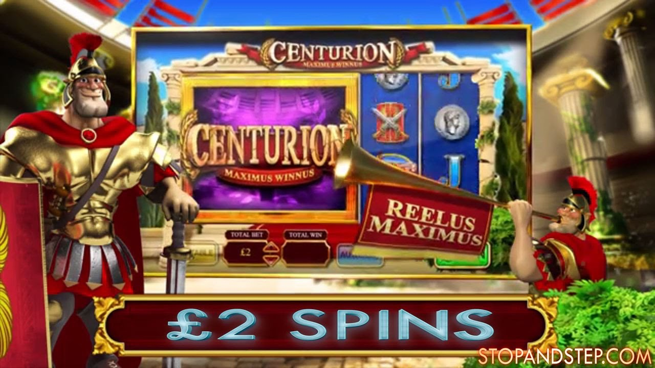 Centurion William Hill Bookies Slot On 2 Spins Youtube