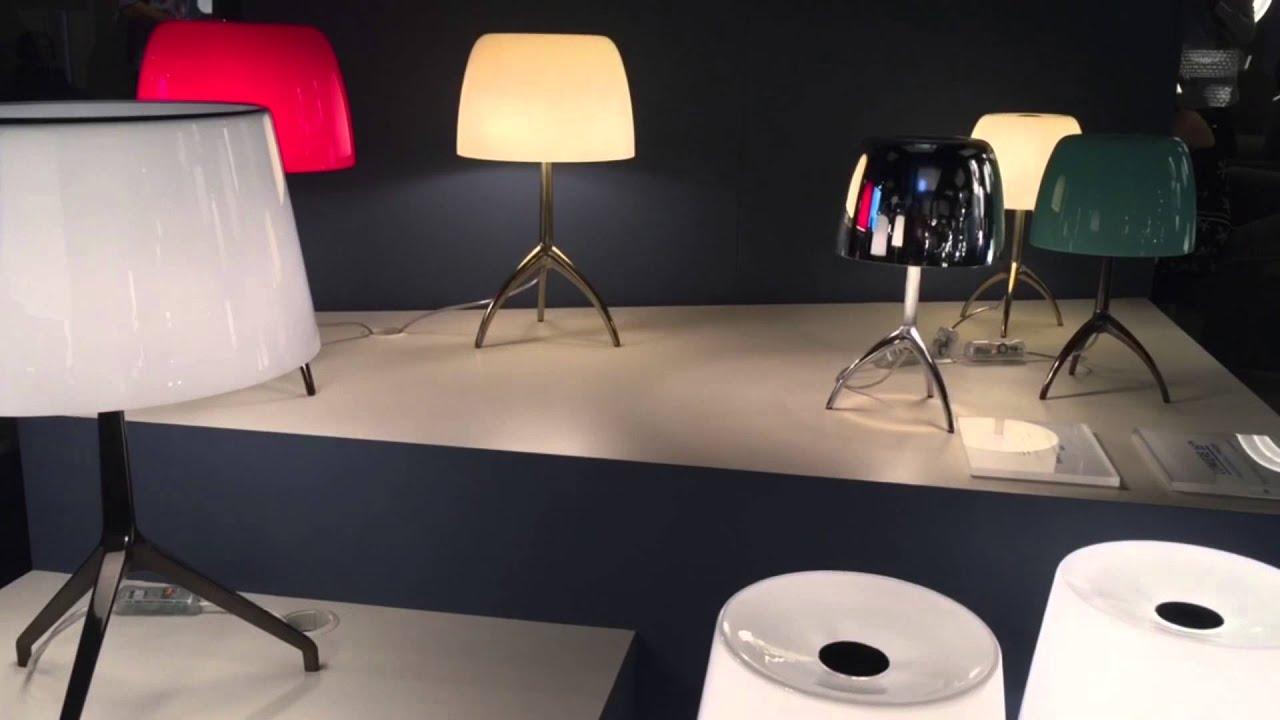 binic y lumiere de foscarini en euroluce 2015 youtube. Black Bedroom Furniture Sets. Home Design Ideas