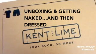 Guys Style Guide / Look book | Kent and Lime Unboxing | Meet Chris