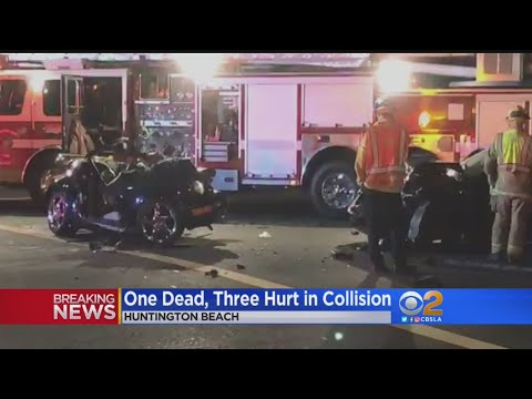1 Dead, 3 Hurt In Huntington Beach Collision