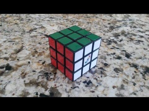 Solve the 3x3 Rubik's Cube: Easiest Beginner's Method (Only 6 Algorithms!)