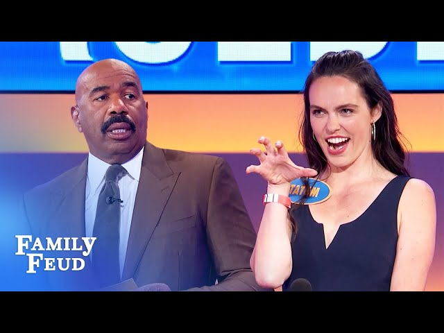 Here's why Tatum wanted Steve Harvey to host her pageant! | Family Feud