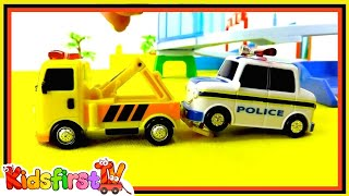 Toy Cars Helpers: Rescue DEMO (1) Fire Truck-Ambulance-Police Car-Tow Truck