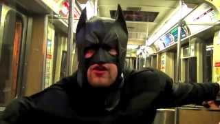Shitfaced Batman - The Drunk Knight Rises (Featuring Joker) - Real Life Superhero Parody/Spoof