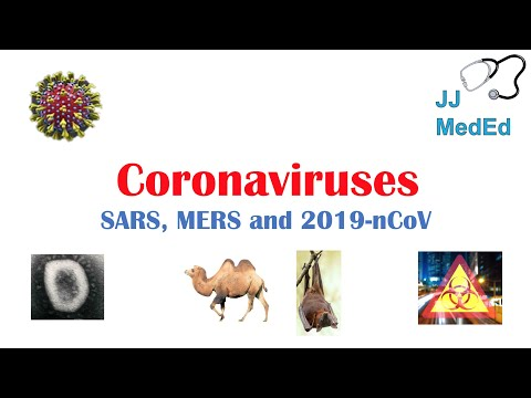 Introduction To Coronaviruses (SARS, MERS, COVID-19): Hosts, Symptoms, History Of SARS And MERS