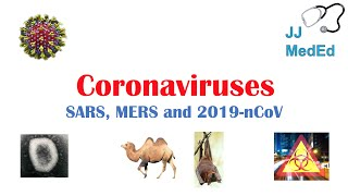 Introduction To Coronaviruses Sars, Mers, Covid-19 : Hosts, Symptoms, History Of Sars And Mers