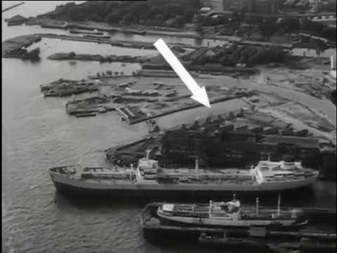 1967: Bouw IJ-tunnel te Amsterdam - oude filmbeelden