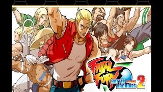 FATAL FURY BATTLE ARCHIVES VOL. 2 PS4 Real Bout Arcade Mode Terry Bogard