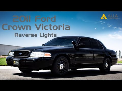 How to Install 1998-2011 Ford Crown Victoria Reverse Light Bulb w/ LED