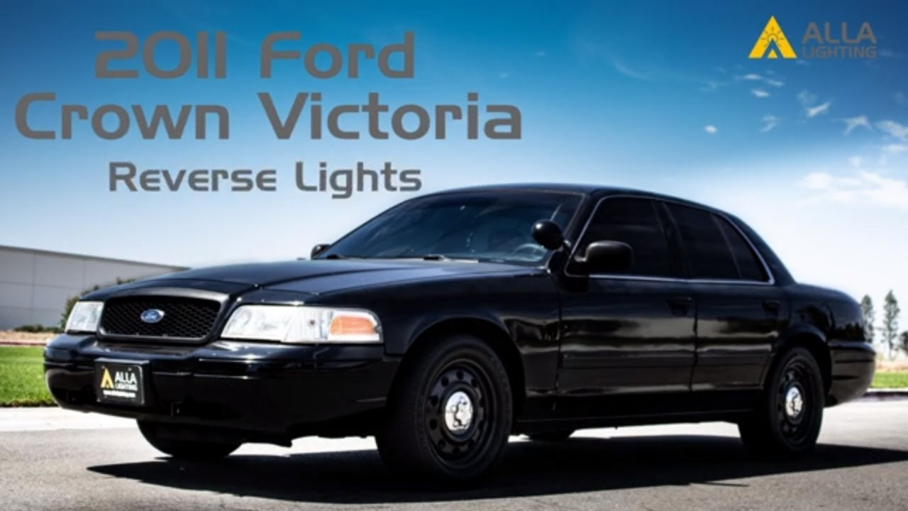 How To Install 1998 2011 Ford Crown Victoria Reverse Light Bulb W Led Youtube