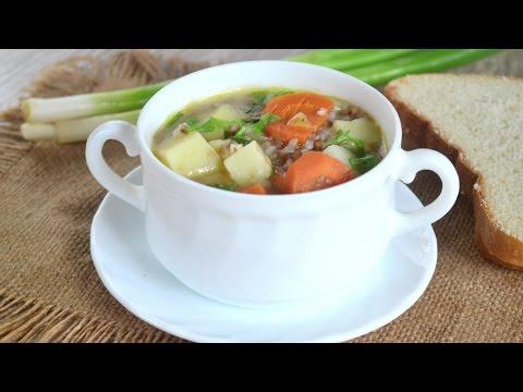 Гречневый суп с фрикадельками пошаговый рецепт с фото на