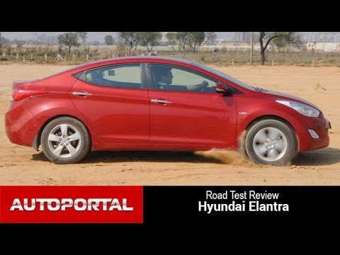Hyundai Elantra Diesel Road Test Review - AutoPortal