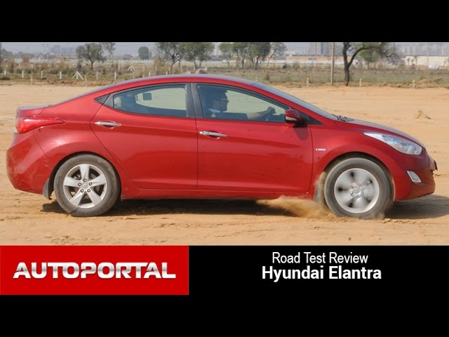 Hyundai Elantra Diesel Road Test Review - AutoPortal