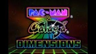 Pac-Man & Galaga Dimensions (3DS) Game: Galaga 3D Impact