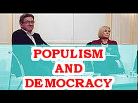 Debate between Jean-Luc Mélenchon and Chantal Mouffe with subtitles