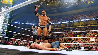 John Cena vs. Batista - WWE Championship Match: Elimination Chamber 2010