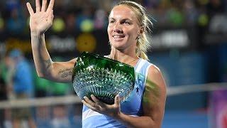 2016 Apia Sydney International Final WTA Highlights | Svetlana Kuznetsova vs Monica Puig