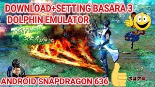 DOWNLOAD + SETTING BASARA 3 UTAGE WII ANDROID DOLPHIN EMULATOR