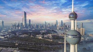 Kuwait Towers DJI Phantom 4 Pro 4k Footage - ابراج الكويت