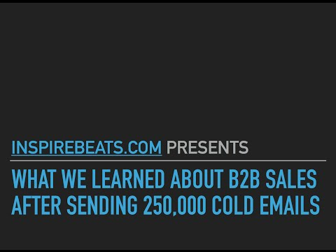 What We Learned Sending 250,000 Cold Emails - Alex Berman Webinar