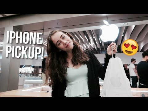 Picking Up the New iPhone XS Max at the Apple Store!!