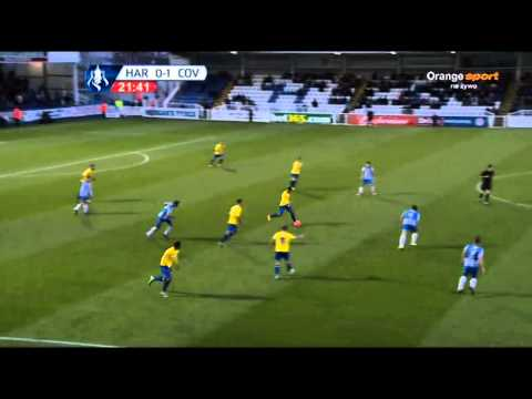 Hartlepool United vs Coventry City FA Cup 07/12/2013 1st half