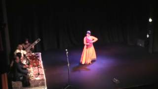 Kathak solo-SABERI MISRA- Live at The Bhavan, London clip 2