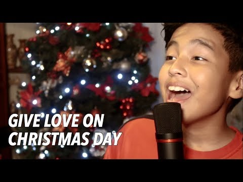 GIVE LOVE ON CHRISTMAS DAY (Jackson 5) | Cover by SAM SHOAF