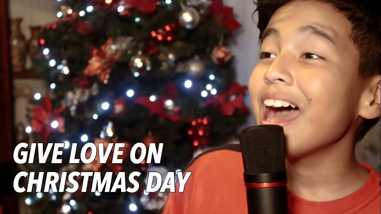 Give Love On Christmas Day.Give Love On Christmas Day Jackson 5 Cover By Sam Shoaf